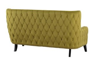 An Image of Margonia Two Seat Sofa - Olive