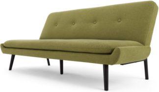 An Image of Edwin Click Clack Sofa Bed, Juniper Green