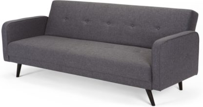 An Image of Chou Click Clack Sofa Bed, Cygnet Grey