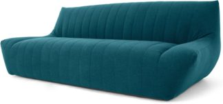 An Image of Ivan 3 Seater Sofa, Mineral Blue