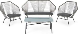 An Image of Copa Garden lounge set, Grey