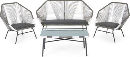 An Image of Copa Garden lounge set, Grey
