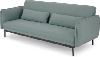 An Image of Shay Click Clack Sofa Bed, Tarragon Green