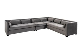 An Image of Berkley Large Right Hand Corner Sofa - Dove Grey