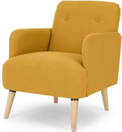 An Image of Elvi Accent Chair, Butter Yellow