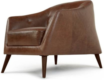 An Image of Nevada Armchair, Antique Cognac Leather