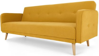 An Image of Chou Sofa Bed, Butter Yellow