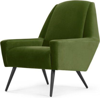 An Image of Roco Accent Chair, Cedar Velvet