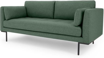An Image of Harlow Large 2 Seater Sofa, Darby Green