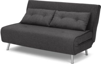 An Image of Haru Large Double Sofa Bed, Shadow Grey