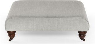 An Image of Orson Footstool, Chic Grey