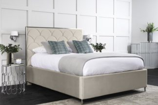 An Image of Pino Storage Bed - Chalk