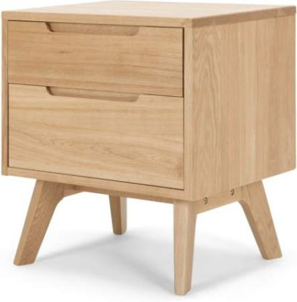 An Image of Jenson Bedside Table, Oak