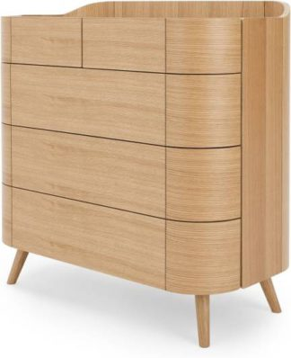 An Image of Ada 5 Drawer Chest of Drawers, Oak