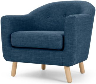 An Image of Lottie Armchair, Harbour Blue