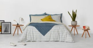 An Image of MADE Essentials Santos 100% Cotton Bed Set, Double, Multi UK