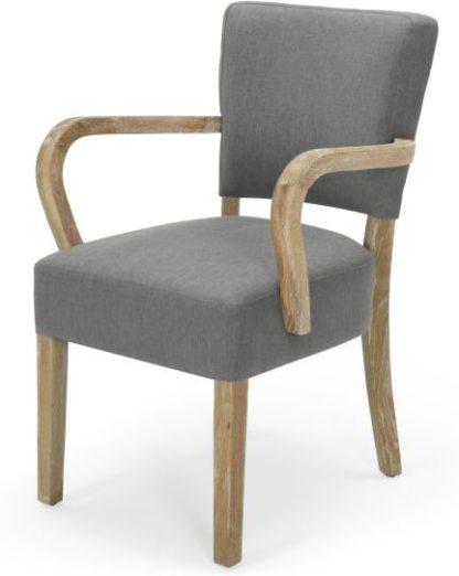 An Image of Irvington Carver Chair, Graphite Grey