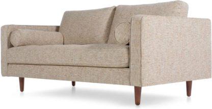An Image of Scott Large 2 Seater Sofa, Amber Basketweave