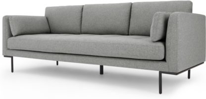 An Image of Harlow 3 Seater Sofa, Mountain Grey