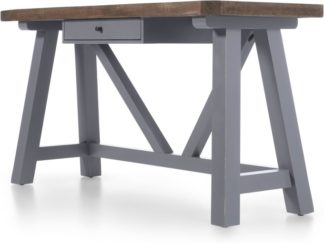 An Image of Iona Desk, Grey and Pine