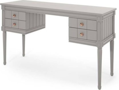 An Image of Bourbon Desk, Grey