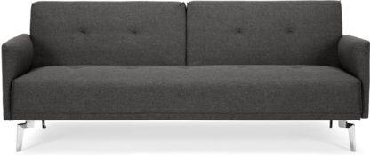 An Image of Akio Click Clack Sofa Bed, Cygnet Grey