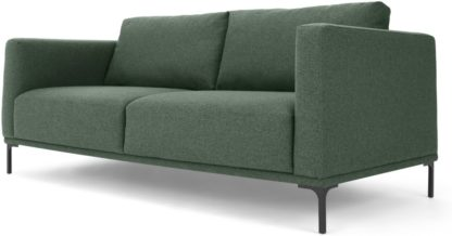 An Image of Milo Large 2 Seater Sofa, Darby Green