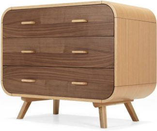 An Image of Fonteyn Chest of Drawers, Oak and Walnut