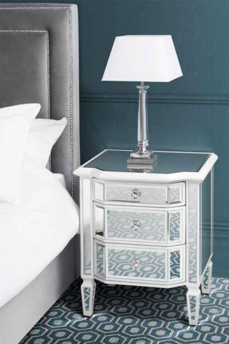 An Image of Pair of Leonore Bedside Tables