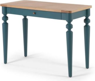 An Image of Betty Desk, Oak and Blue