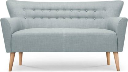 An Image of Quentin 2 Seater Sofa, Glacier Blue