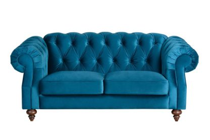 An Image of Buster 2 seat sofa Genova Peacock