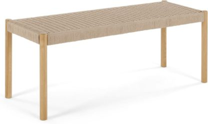 An Image of Rhye Woven Dining Bench