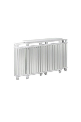 An Image of Leonore Adjustable, Mirrored Radiator Cover