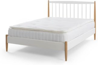 An Image of Tuvo Essential Pillow Top Double Mattress, White