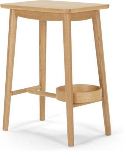 An Image of Penn Bedside Table, Oak