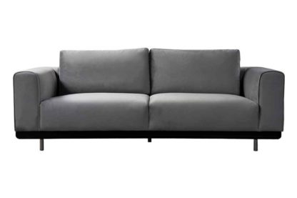 An Image of Alfie Three Seat Sofa - Dove Grey