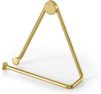 An Image of Bran Toilet Roll Holder, Brushed Brass