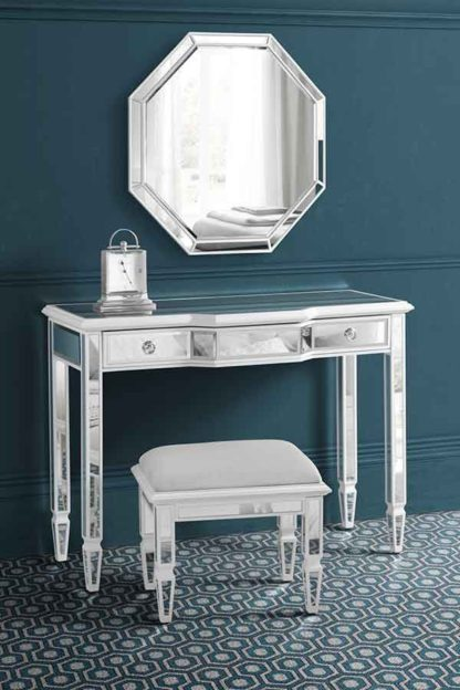 An Image of Leonore Dressing Table & Stool & Mirror