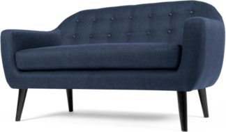 An Image of Ritchie 2 Seater Sofa, Scuba Blue