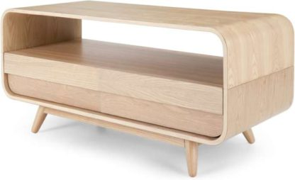 An Image of Esme Compact TV Stand, Ash