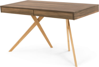 An Image of Darcey Desk, Walnut and Oak