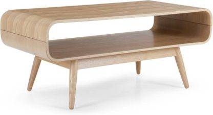 An Image of Esme Compact Coffee Table, Ash