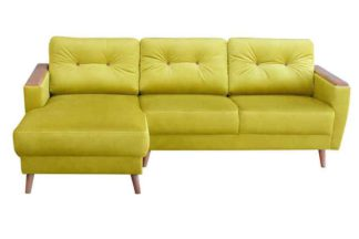 An Image of Expo Left hand Corner Sofa Genova Olive