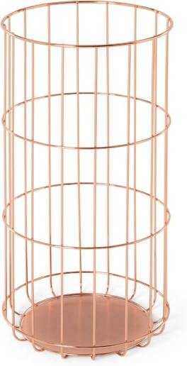 An Image of Bendt Wire Umbrella Stand, Copper
