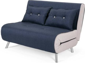 An Image of Haru Small Sofa Bed, Quartz Blue