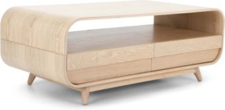 An Image of Esme Coffee Table With Two Drawers, Ash
