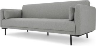 An Image of Harlow Click Clack Sofa Bed, Mountain Grey