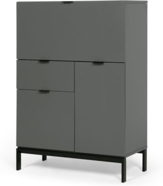 An Image of Marcell Desk Bureau, Grey