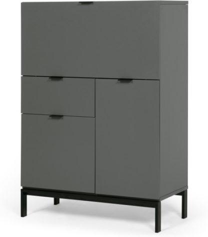 An Image of Marcell Desk Bureau, Grey